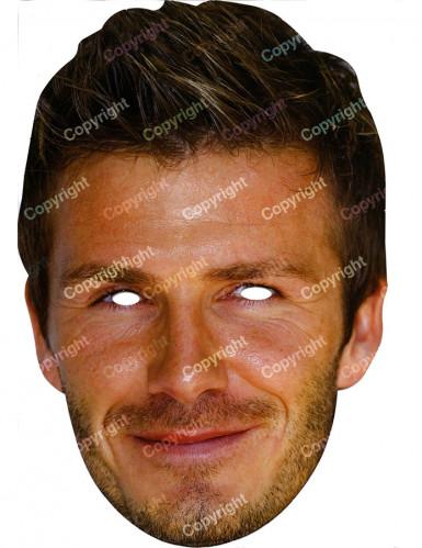 Masque carton David Beckham