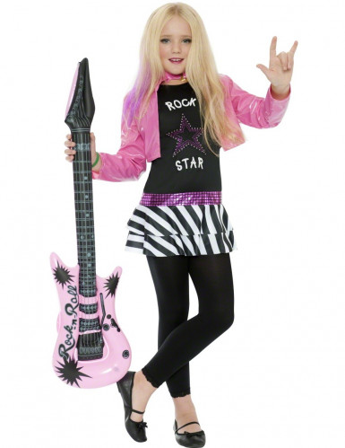 Disfraz de rockera para ni�a