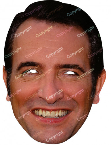 Masque carton jean dujardin deguise toi achat de masques for Contacter jean dujardin