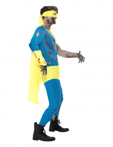 Déguisement super héros zombie homme Halloween-2