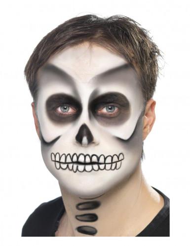 Kit maquillage squelette adulte halloween achat de for Comidee maquillage halloween adulte