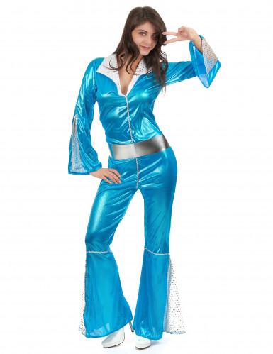 d guisement disco bleu femme deguise toi achat de d guisements adultes. Black Bedroom Furniture Sets. Home Design Ideas