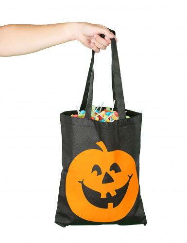 Sac à bonbons citrouille Halloween-1