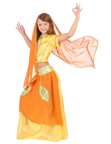 Déguisement indienne bollywood enfant-1