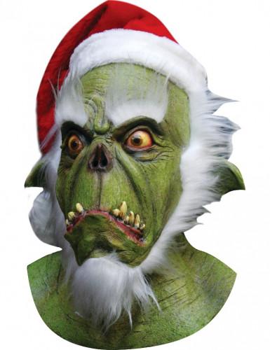 Masque p�re no�l monstrueux adulte Halloween