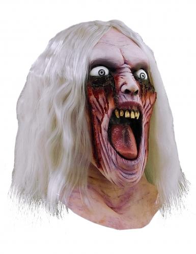Masque zombie sanglant adulte en latex Halloween