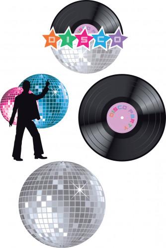 Décorations murales disco