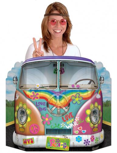 Passe-tête voiture hippie