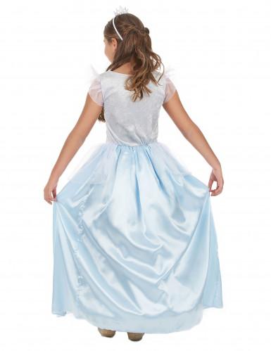 Déguisement princesse bleue fille-2