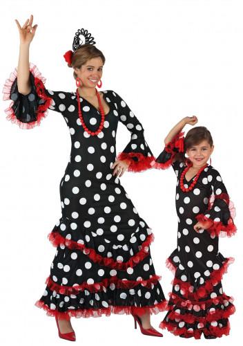 Disfraz de pareja Flamenca