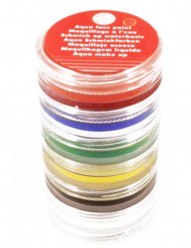 Tour de maquillage à l'eau 6 couleurs