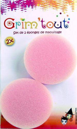 2 éponges maquillage épaisseur 1,5 cm