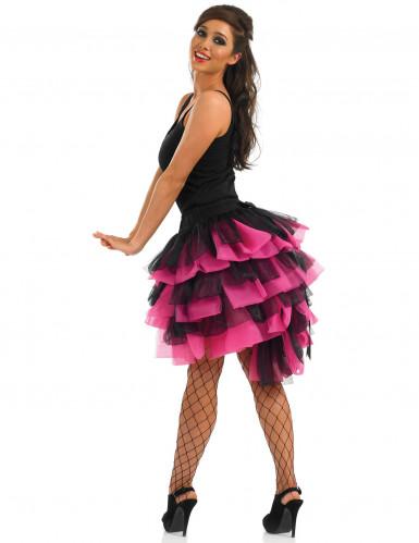 tutu rose et noir danseuse burlesque femme deguise toi achat de accessoires. Black Bedroom Furniture Sets. Home Design Ideas