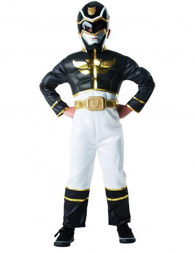 Déguisement Power Rangers™ 3D noir garçon