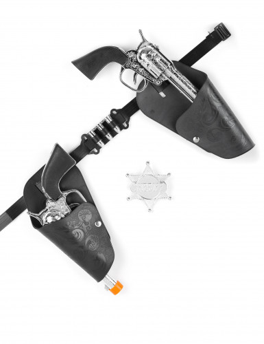 Set revolver cowboy