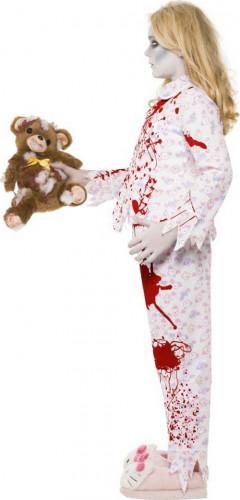 Déguisement zombie pyjama fille Halloween-1