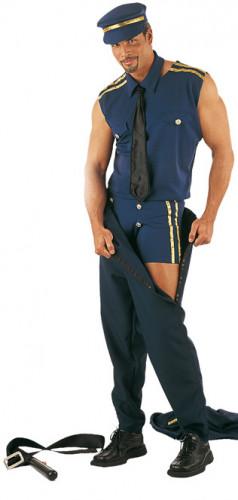 Déguisement Stripteaser Policier Sexy Homme-1