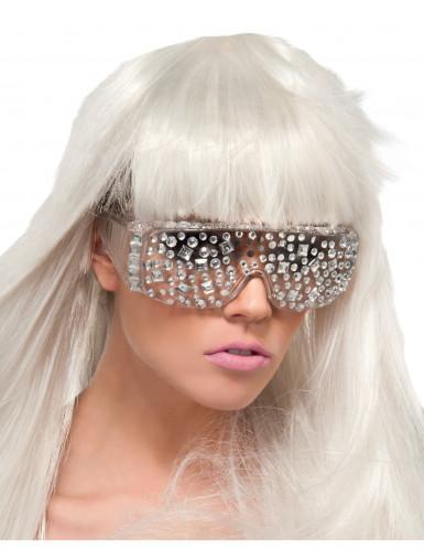 Lunettes Lady Gaga� diamants