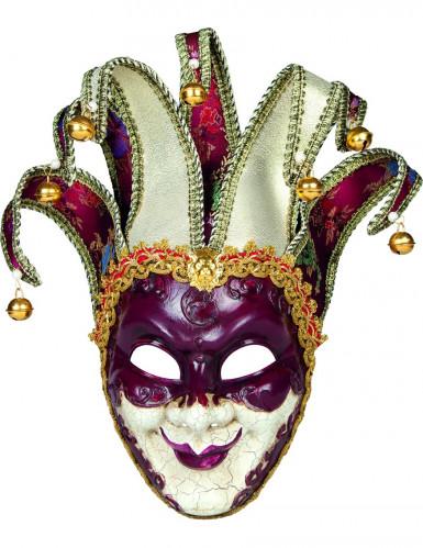 Masque v nitien arlequin adulte deguise toi achat de - Masque venitien decoration ...