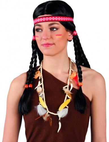Collier indien squaw Taille Unique