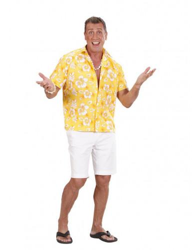 Gelbes Hawaii-Hemd für Herren M / L 4RTHT360