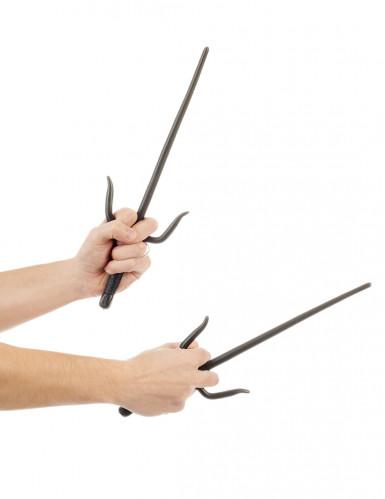 Couteaux de ninja en plastique 36 cm-1