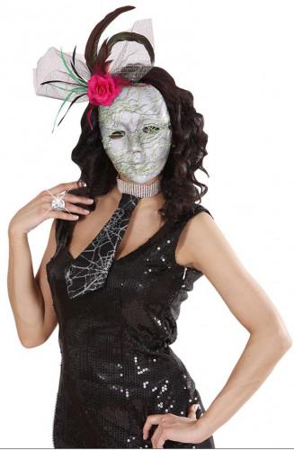 Cravate toile d 39 araign e adulte halloween - Maquillage halloween toile d araignee ...