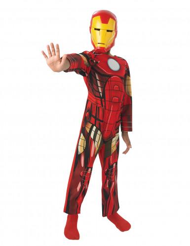 Klassisches Iron Man Kostüm für Kinder 5-6 Jahre 4SWZE322