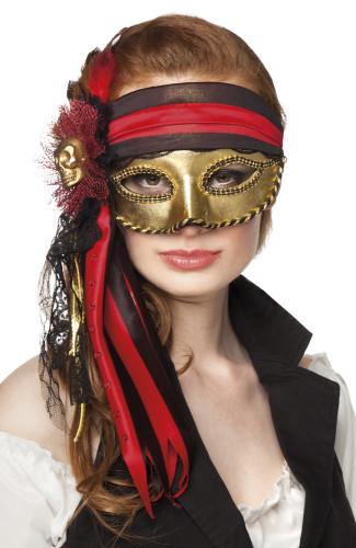 Oferta: Antifaz veneciano pirata adulto