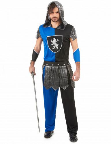 Déguisement chevalier bleu homme