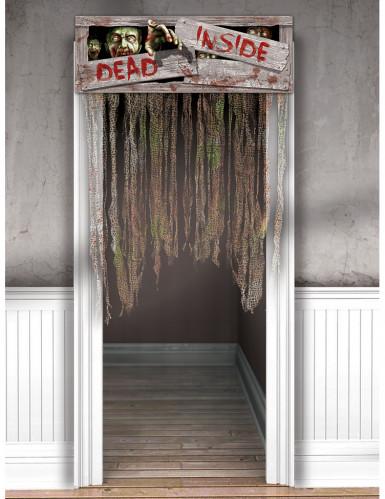 D coration de porte zombies achat de decoration for Decoration de porte en tissu