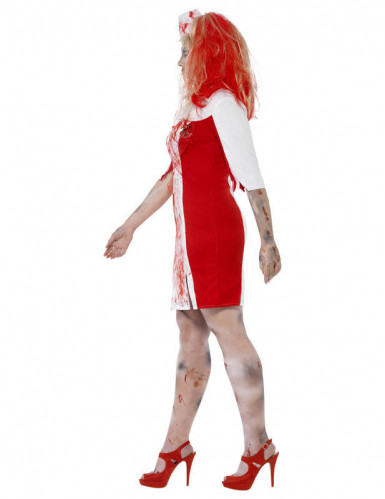 Déguisement zombie infirmière femme Halloween-2