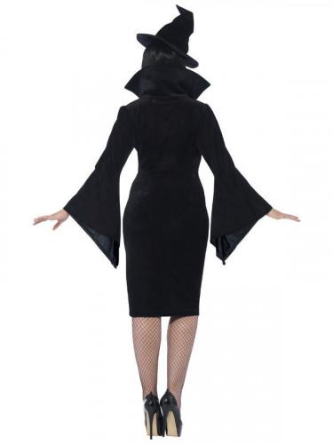 Déguisement sorcière noire femme Halloween-1