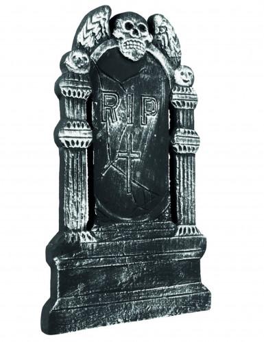 Décoration tombe squelette Halloween 50 x 30 cm