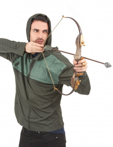 Kit arc et flèche Arrow™ adulte en plastique-1