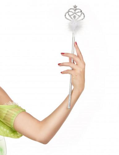 Baguette princesse avec fourrure blanche-1