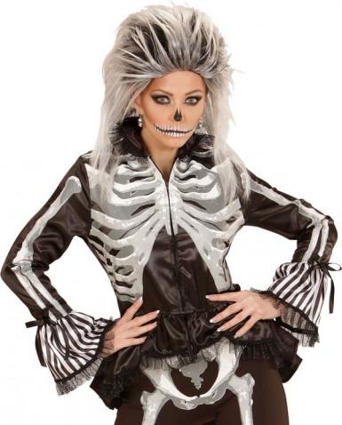 Chemise squelette femme Halloween