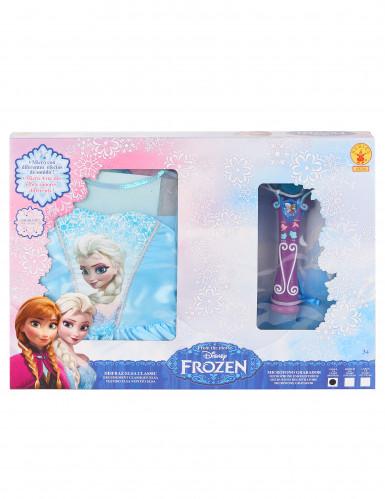 Pack Déguisement + Micro Elsa La Reine des Neiges™-1