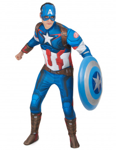 Déguisement adulte luxe Captain America™ movie 2