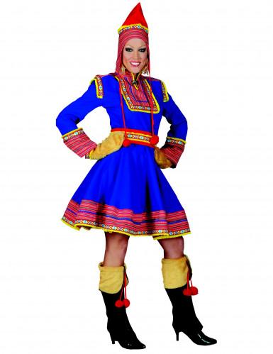 Déguisement russe bleu femme