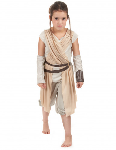 Déguisement luxe Rey pour fille - Star Wars VII™