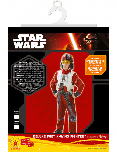 Déguisement enfant Luxe Poe X-Wing Fighter - Star Wars VII™-1