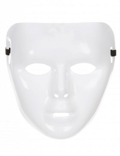 Masque blanc brillant Adulte