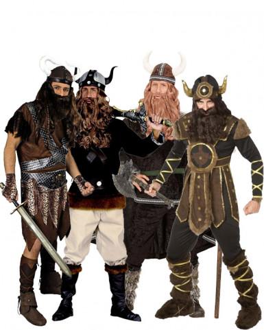 Déguisement de tribu viking