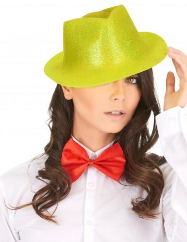 Chapeau pailleté jaune adulte-1