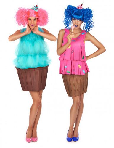 d guisement de duo cupcake fantaisie femme deguise toi achat de d guisements couples. Black Bedroom Furniture Sets. Home Design Ideas