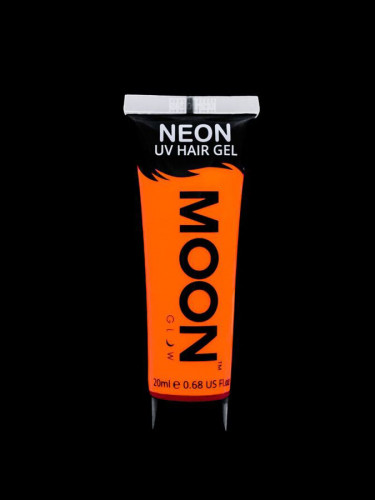Gel cheveux orange fluo UV 20 ml Moonglow ©-1