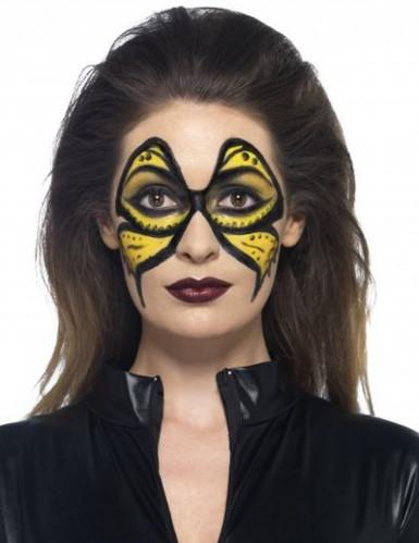 Maquillage latex liquide jaune avec éponge 59 ml