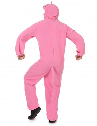 Combinaison à capuche panthère rose homme-2