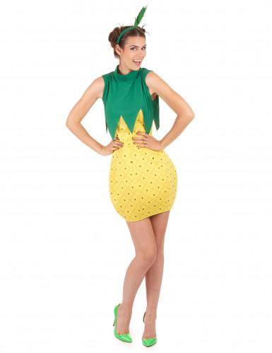 Déguisement d'ananas femme-1